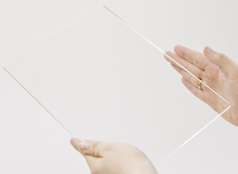 60 x 37 cm Acryl-Zuschnitt//Plexiglas-Platte transparent 3mm XT