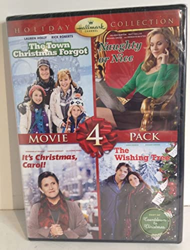 Amazon.com: Hallmark Holiday 4 Pack DVD Set - Naughty or Nice, Its ...