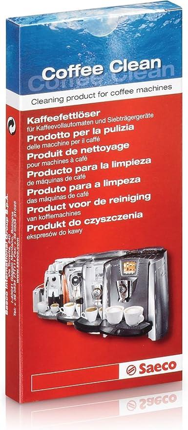 Saeco - Pastilla limpiadora para cafetera: Amazon.es: Hogar