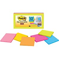 Post-it Super Sticky Full Adhesive Notes Rio de Janeiro 76x76mm F330-12SSAU (Pack of 12)