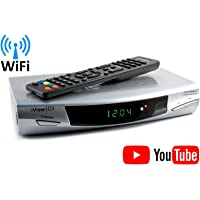 NEW Freeview HD WiFi Ready Digital TV Receiver Tuner Set Top HD DigiBox Terrestrial + USB/SD Slot Schedule HD Program Recorder + MP4 MKV H.264 MultiMedia Video Player HDMI & SCART Output Wi-Fi DVB-T2
