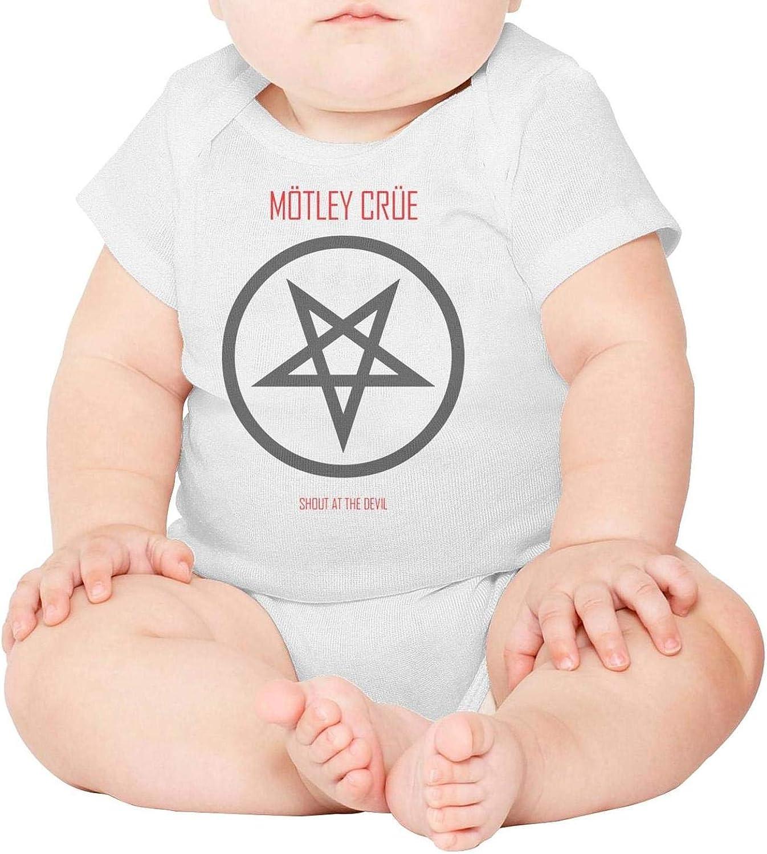 Unisex Baby Short Sleeve Onesies Rock Music Band Member Poster Cotton Bodysuit Crew Neck 3-24 Months