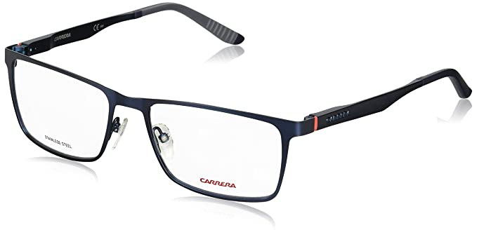63444a25c04 Image Unavailable. Image not available for. Color  Carrera 8811 Eyeglass  Frames CA8811-05R1-5517 - Semi Matte Blue Frame