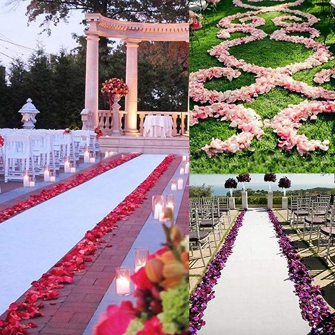4000 Silk Rose Petals Wedding Decorations Favors Wholesale Bulk Supplies SALE