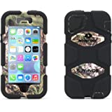 Griffin iPhone 5/5s, iPhone SE Rugged Case, Survivor All-Terrain Mossy Oak Camo, Obsession - Military-Duty Case