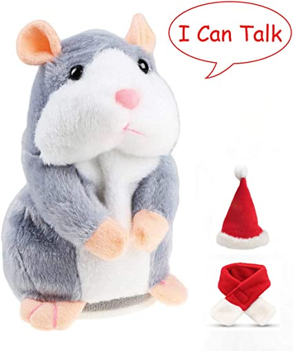 Newest Mimicry Talking Hamster Electronic Pet Mouse Plush Baby Kids Toys Gift