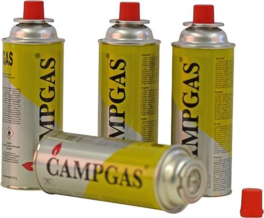Gaskocher Campingkocher Gaskartusche Gas 4 x Gaskartuschen 227g Koffer