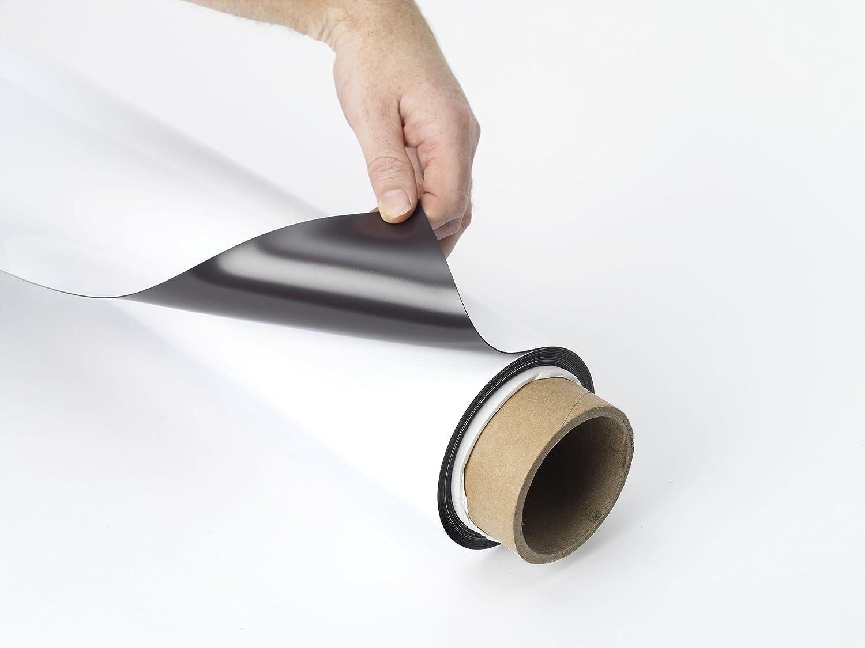 0,75 mm Magnetfolie Weiß Matt – – – 10 Meter, Farbe  Dunkelbraun magnetoberfläche weiß nicht-magnetischen Gesicht, Größe  0,75 mm (0.85 mm) X 620 mm x 10 m 0.75mm (0.85mm) x 620mm x 5m B00TSFBLNI | Moderne und stilvolle Mode 07fadd