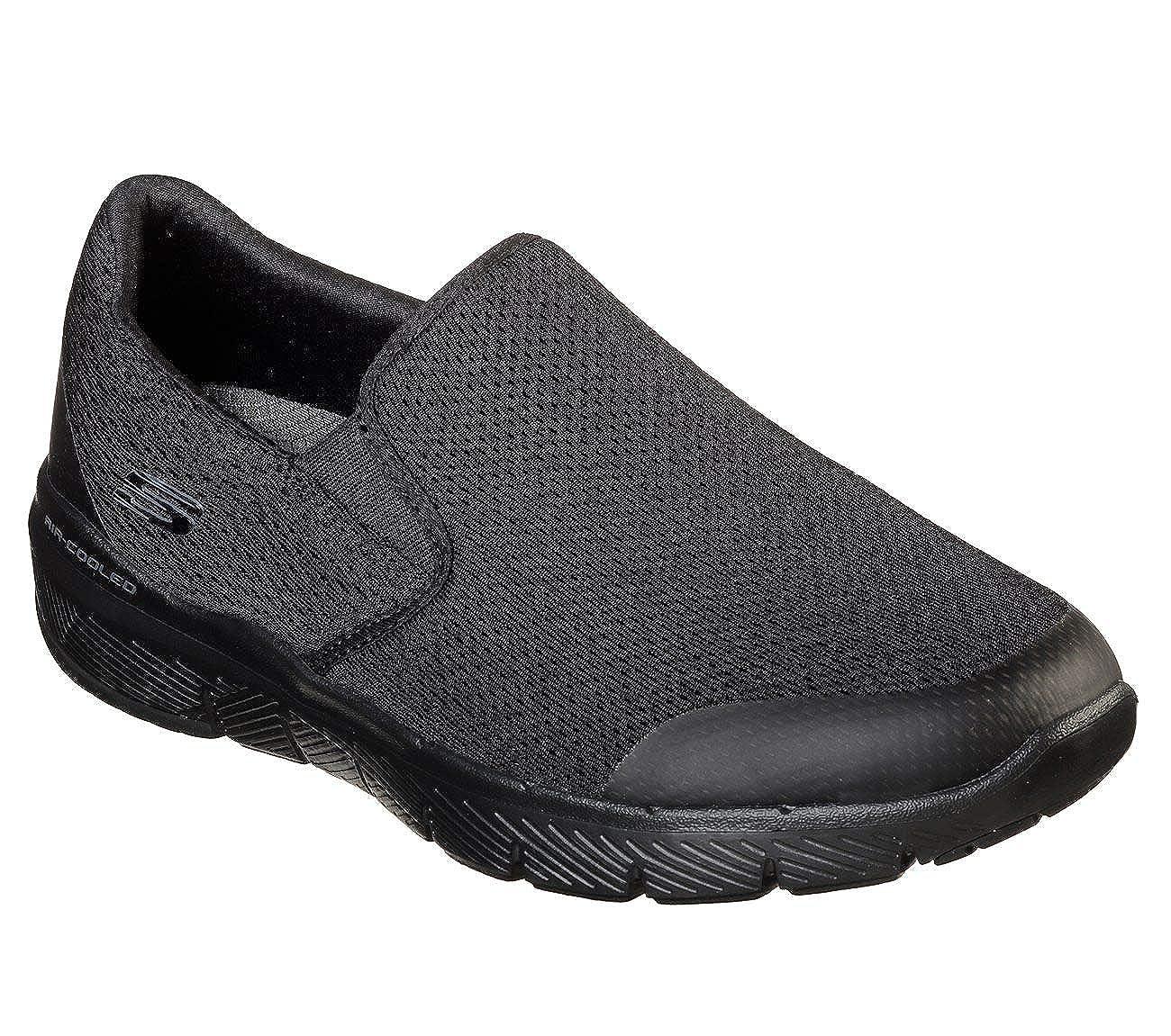 Walking Black,White 9 US M Morwick Skechers Mens Flex Advantage 3.0