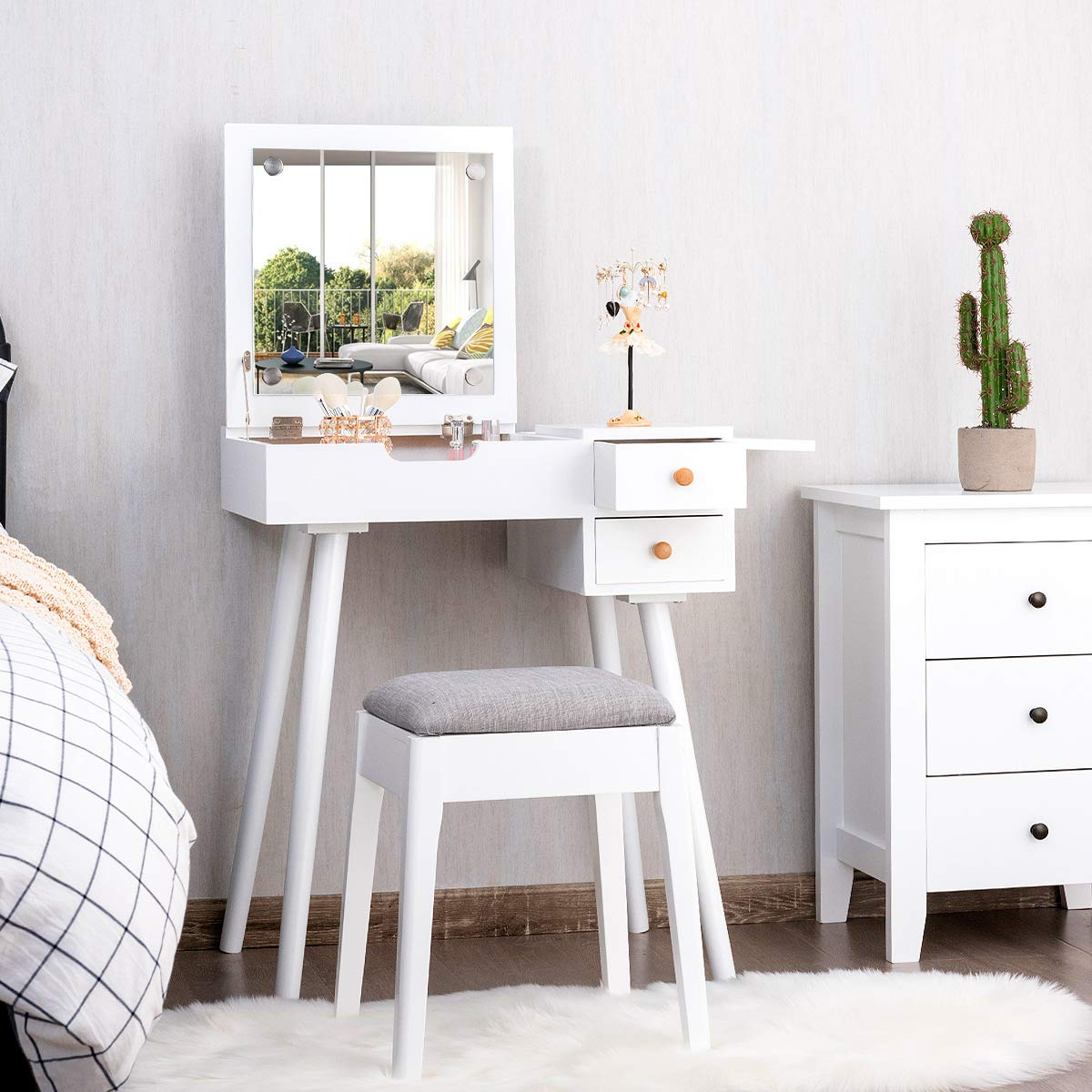 CHARMAID Dresser set for small spaces