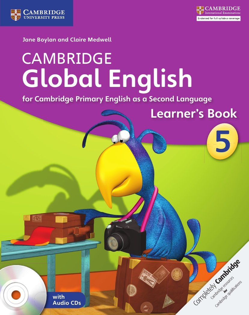 Cambridge Global English Stage 5 Learner's Book with Audio CDs (2)
