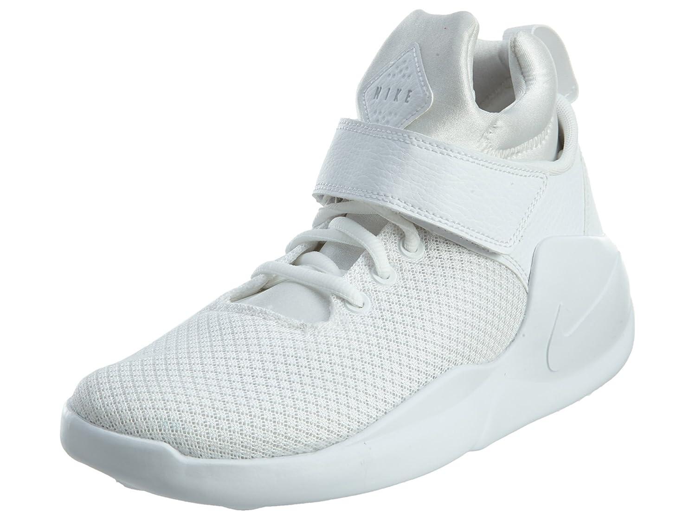 Nike Herren Kwazi (GS) Basketballschuhe  39 EU|Blanco (White / White-pure Platinum)