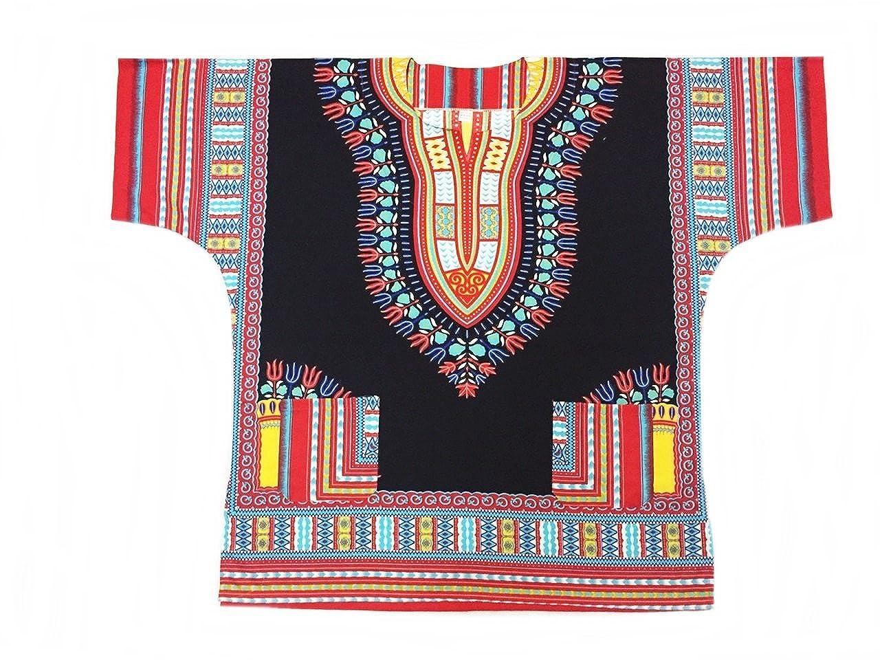 Vipada Handmade Dashiki Shirt African Caftan Kaftan Angelina Print Several Colors t33