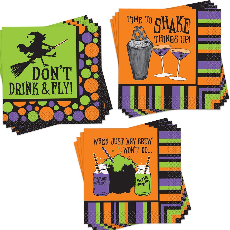 Halloween Witch Napkins