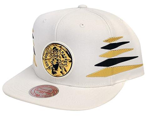 Amazon.com   Mitchell   Ness Boston Celtics Mens NBA Gold Diamond ... 3ea850de8a1