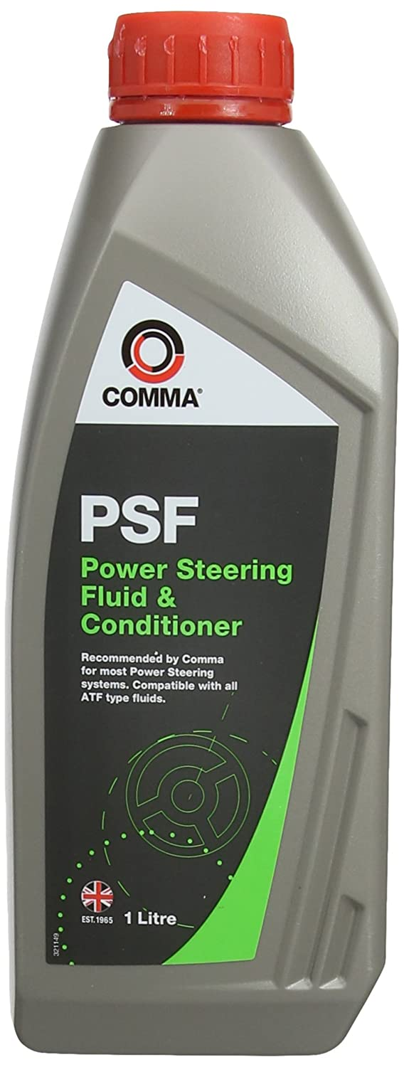 Comma PSF1L 1L Power Steering Fluid Comma Oil & Chemicals Ltd.
