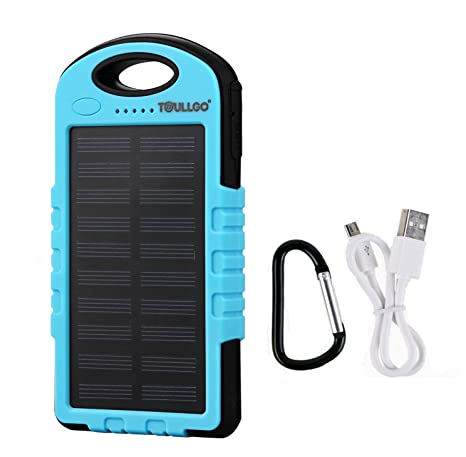 Cargador solar 10000 mAh portátil cargador solar para ...