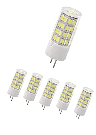 Dimmable Led G8 Bulb Soft Daylight 40w T4 Jc Type 120v Clear