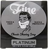 Fine Classic Shaving Soap - Platinum