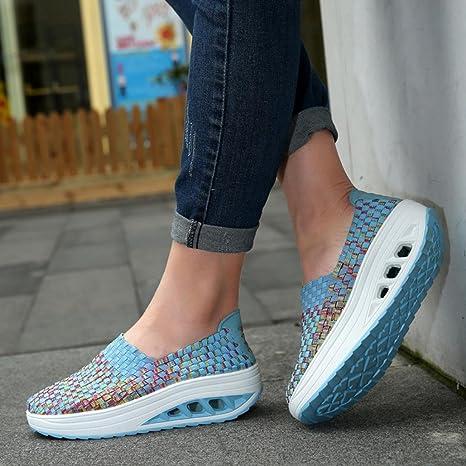 Zapatillas running mujer, Covermason Zapatillas para mujer: Amazon.es: Ropa y accesorios