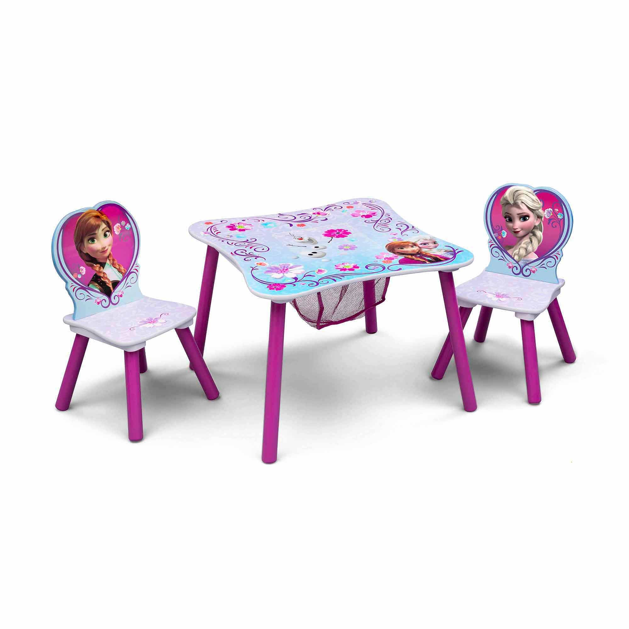 Disney Frozen Table and Chair Set with Storage by TT89494FZ (Image #3)