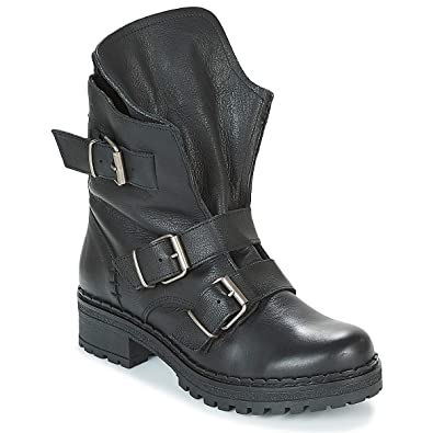 HoustonBottes Cloud Musseamp; Bottines Motardes FemmeNoirabk 9EHIWDY2e