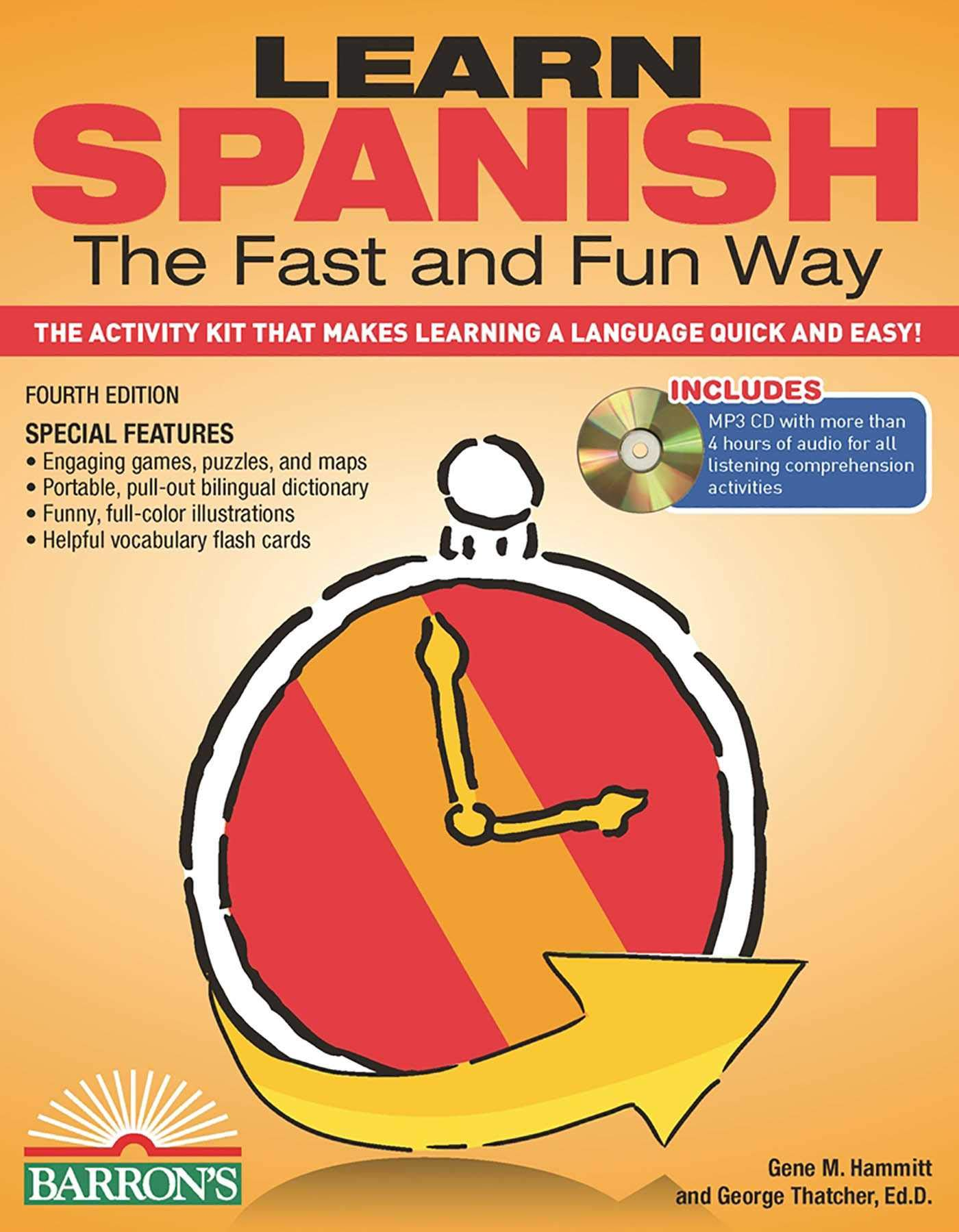 Buy Learn Spanish the Fast and Fun Way: The Activity Kit That Makes  Learning a Language Quick and Easy! Book Online at Low Prices in India |  Learn Spanish ...