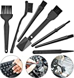 Small Portable Plastic Handle Nylon Anti Static Brushes Computer Keyboard Cleaning