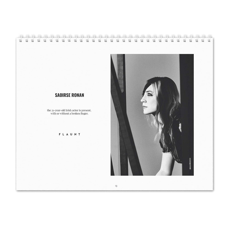 Saoirse Ronan - Flaunt 2019 Calendario de de de pared 923750