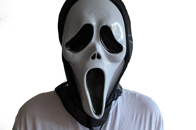 Ghost Face Killer Slasher SCRE4M Horror Deluxe Collector/'s Men Costume Plus