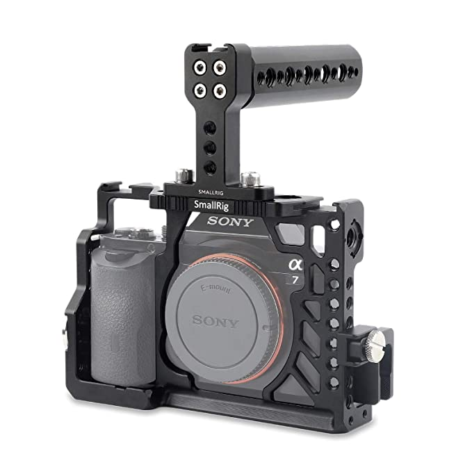 SMALLRIG - Kit de Jaula de Cámara para Sony A7 Serie: Amazon.es ...