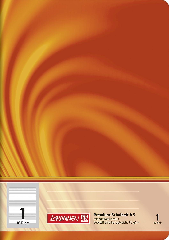 DIN A5 16 Blatt 10 Schulhefte Lineatur 8f