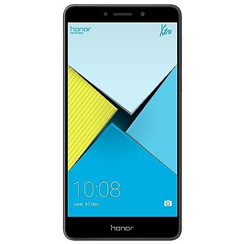 Honor 6X Smartphone libre de 5 5 lector de huellas 3 GB RAM 32 GB ROM EMUI 4 1 compatible con Android M Full HD 1080p Kirin 655 octa core cámara 12 MP 2 MP frontal 8 MP gris