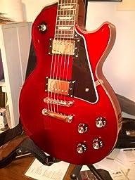 gibson gear prpg 020 les paul custom 5 ply black musical instruments. Black Bedroom Furniture Sets. Home Design Ideas