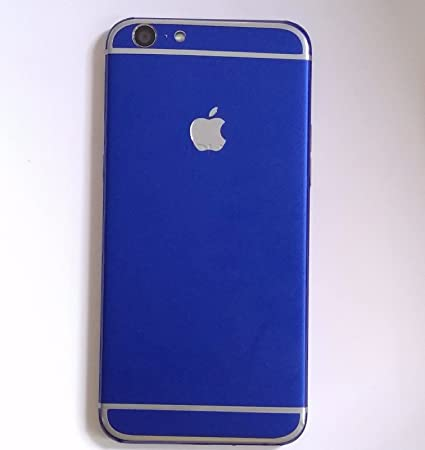 GADGETS WRAP iPhone Style Apple Logo Blue Matte Limited: Amazon in