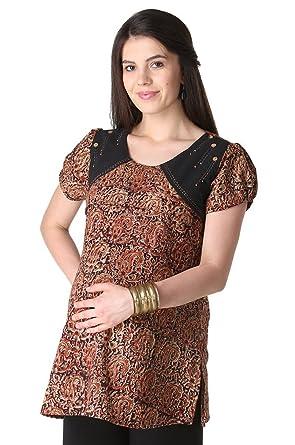 Morph Maternity - Kalamkari Nursing Kurta/Maternity Wear