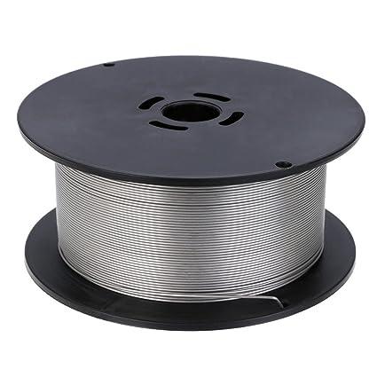 1 kg alambre de soldadura Acero Inoxidable 0,8 mm sudor alambre relleno alambre sudor