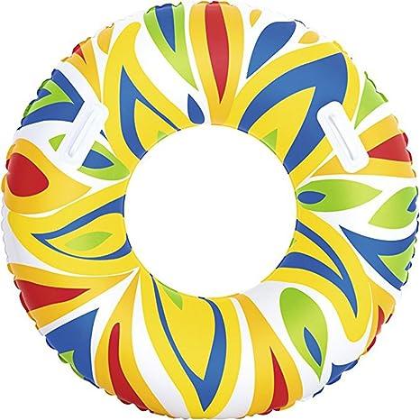 Barco de natación, Asiento de flotador inflable del flotador de la piscina del anillo de la ...