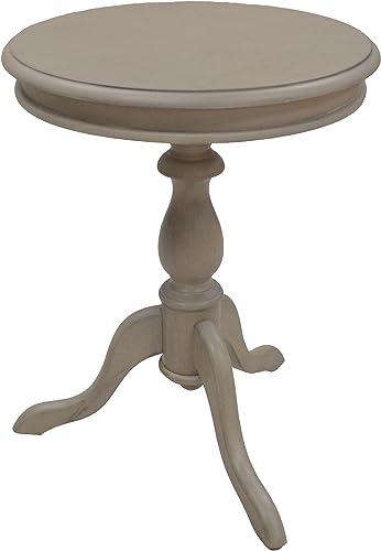Carolina Chair Table Gilda Side Table, Weathered Gray