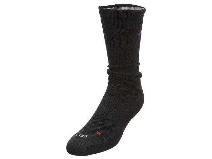 Nike Dri-Fit algodón mosca tripulación calcetines (3 pares) para hombre, LG(11-13), Multi - Color: Amazon.es: Deportes y aire libre