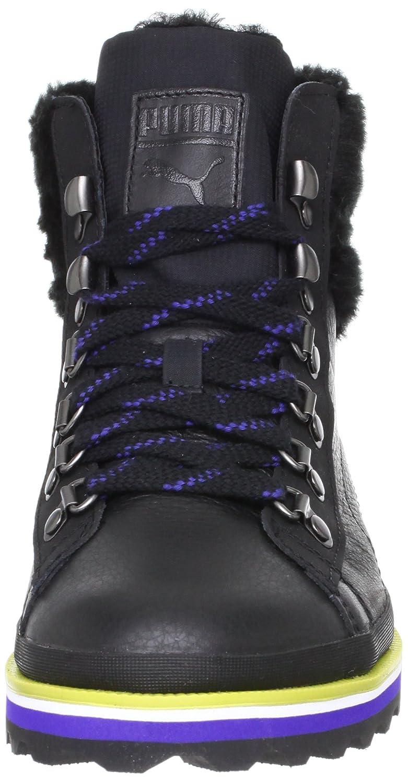 Puma - City snow fur zapatilla/zapato para mujer estilo con cordones, talla 5 uk, color negro