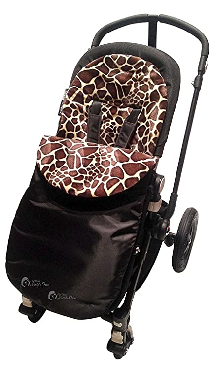 Animal Print saco/Cosy Toes Compatible con Mountain Buggy Duo/Duet/Uno/