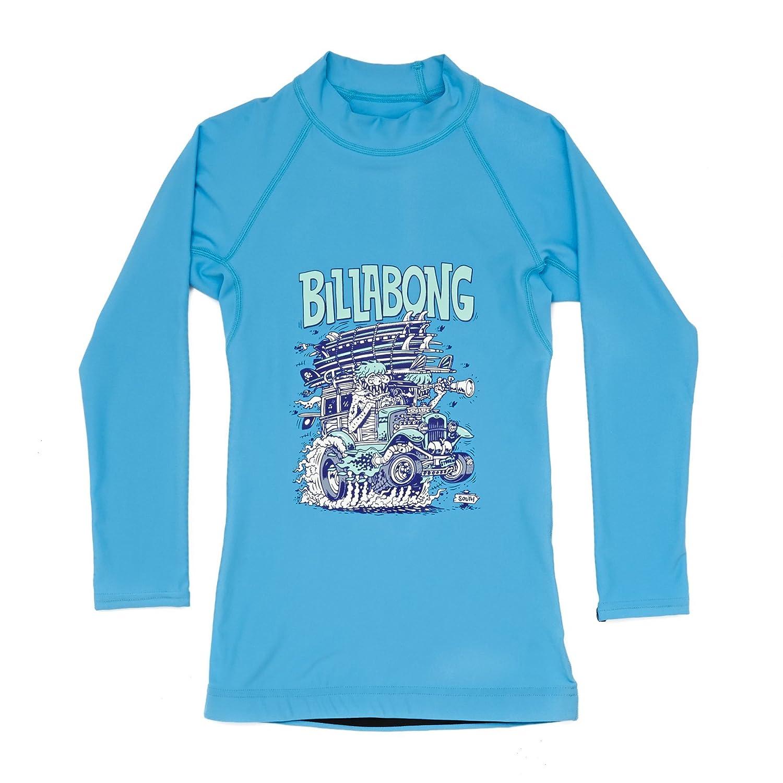Billabong Woody Trip 長袖ラッシュガード 5~6歳 オーシャン   B079KLD99Q