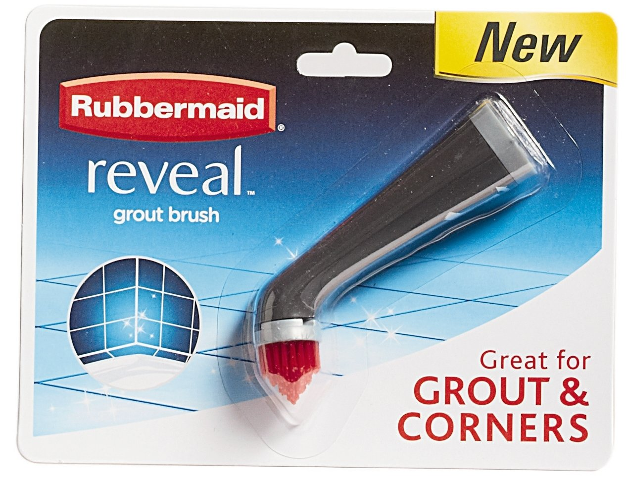 1839688 RubbermaidReveal Power Scrubber Pointed Grout Scrubber Head
