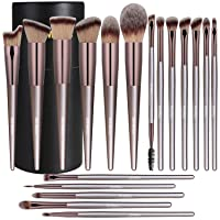 BS-MALL Makeup Brush Set 18 Pcs Premium Synthetic Foundation Powder Concealers Eye...
