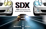 SDX High-Intensity Discharge Headlights™ Xenon