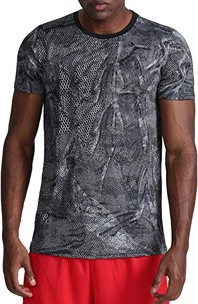 Kekebest 2019 Summer Trendy Popular Shirts for Men,Blouse T-Shirts Vest Top Fashion Casual Lapel Print Short Sleeve