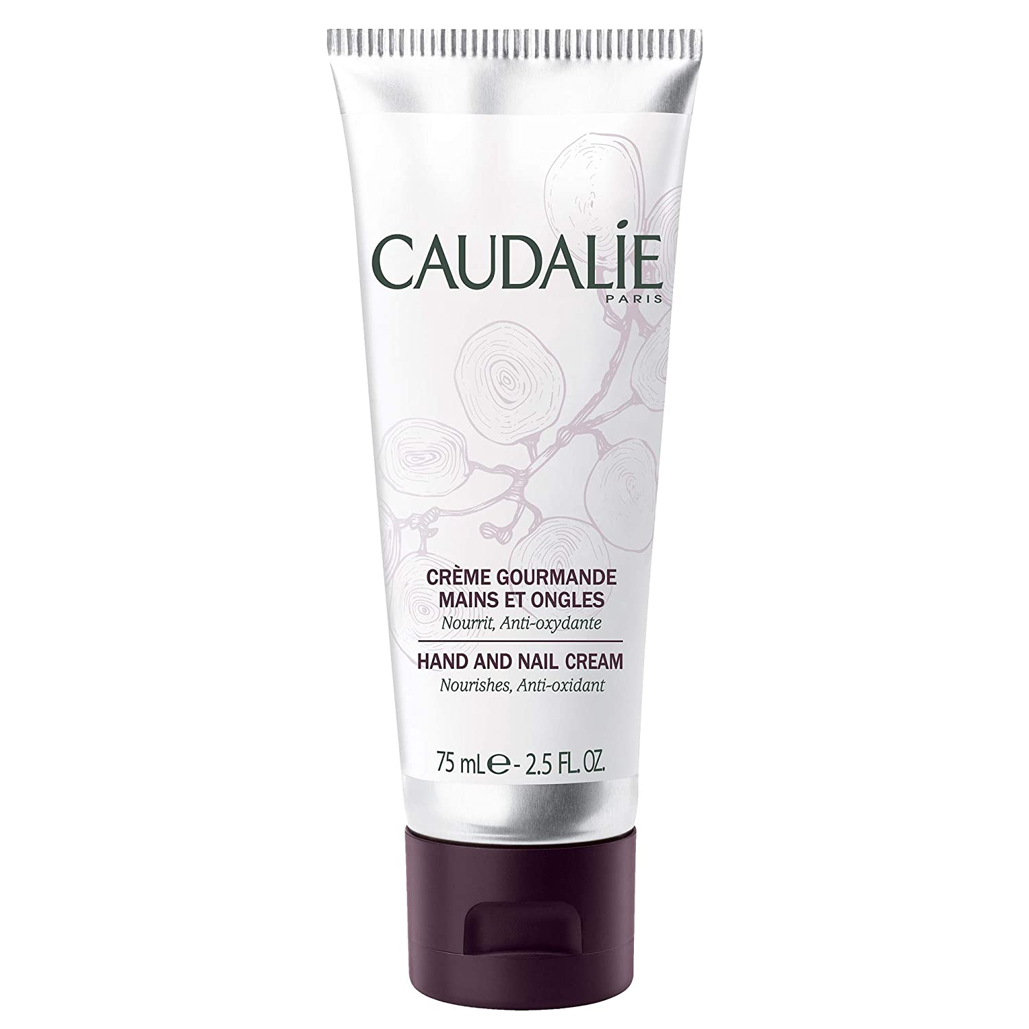 Caudalie Nourishing and Protective Hand and Nail Cream, 2.5 Ounce: Premium Beauty