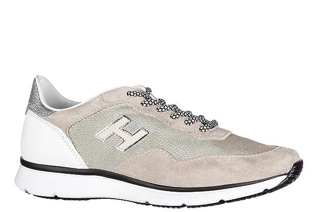 Hogan zapatos zapatillas de deporte mujer en ante nuevo h254 beige EU 38 HXW2540W960FO60PZ5 MzTMgz