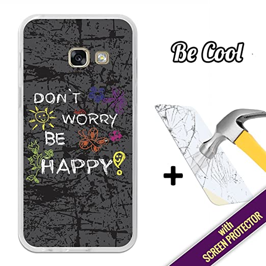 2 opinioni per BeCool®- Custodia Cover [ Flessibile in Gel ] per Samsung Galaxy A3 2017 [ +1
